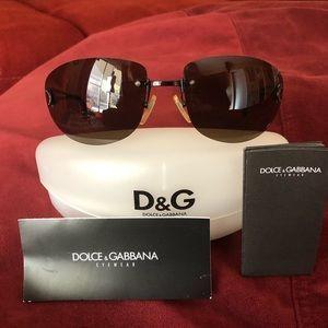 Dolce & Gabbana EUC DG 385S Brown Sunglasses